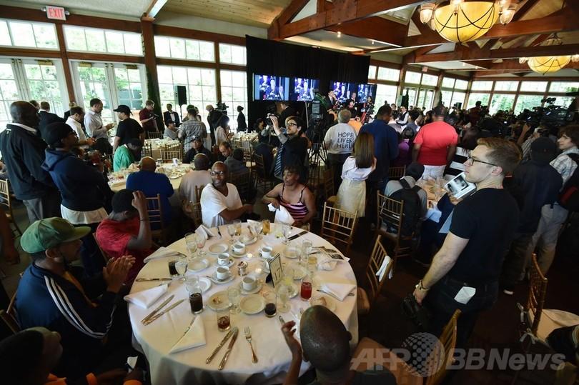 米NYホームレス、中国人富豪の招待ランチに「ペテンだ」と激怒