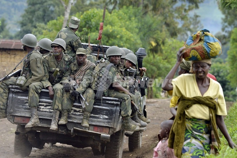 コンゴ民主共和国、反政府武装勢力M23が降伏
