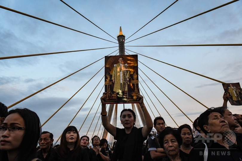 【AFP記者コラム】プミポン前国王の葬儀で見えた秘密と不敬罪の国タイ