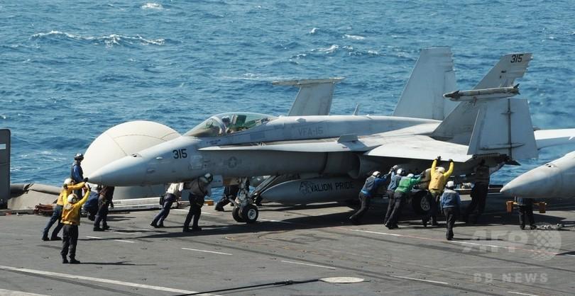 米軍、イラク北部の「イスラム国」に空爆 2011年の撤退後初