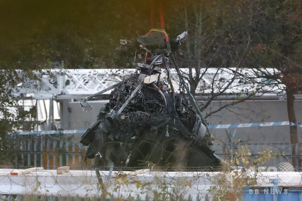 レスター会長のヘリ墜落事故、原因はペダルの不具合 報告書