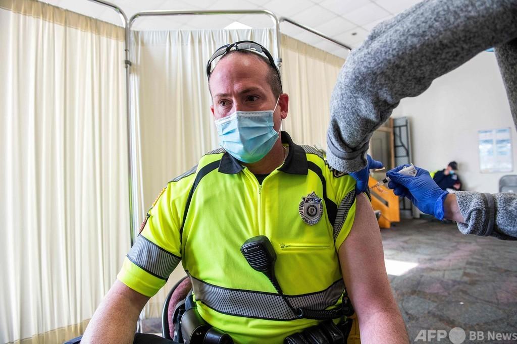 米、1千万人にワクチン1回目接種 目標ペースには届かず