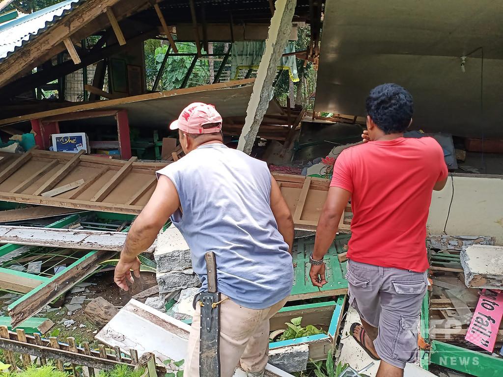 フィリピン・ミンダナオ島でM6.6の地震 6人死亡