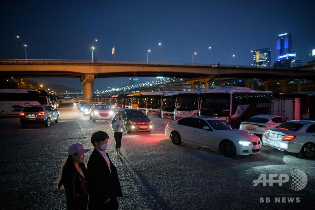 韓国でドライブインシアターが人気、新型コロナ流行でも安心