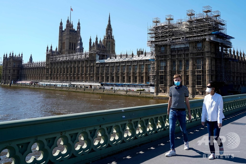 英、30万人規模の新型コロナ検査開始へ 感染状況の把握目指す