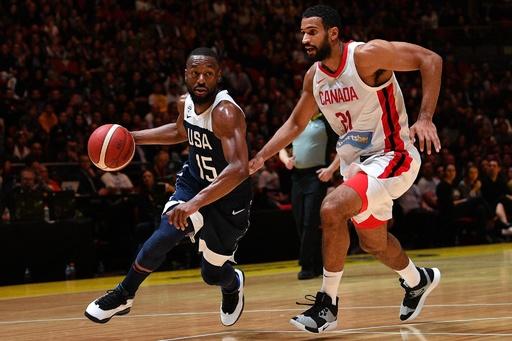 米国がカナダに勝利、豪戦の黒星から立ち直る バスケ男子