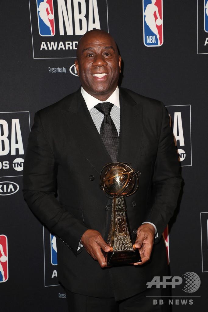 M・ジョンソン氏、無観客でのシーズン再開に期待 NBA
