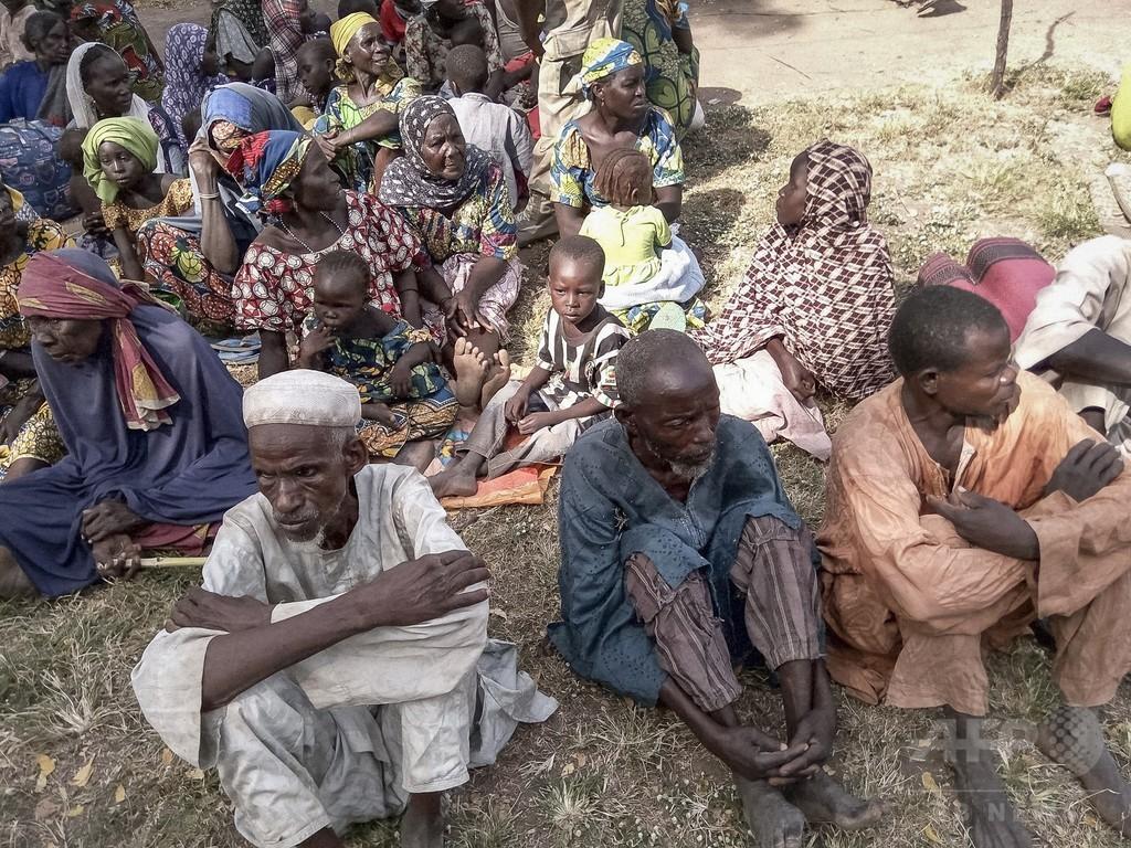 子どもや女性338人救出、ボコ・ハラム拠点から ナイジェリア
