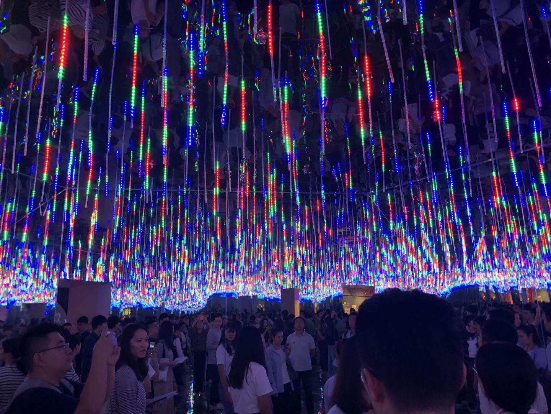天津浜海科学技術館、ネットの人気スポットに