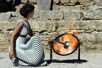 平昌冬季五輪、ギリシャ神殿で聖火採火式のリハーサル