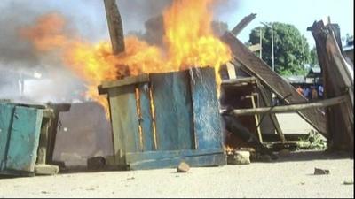 動画:イスラム武装勢力の急襲で11人死亡、子ども10人拉致 コンゴ