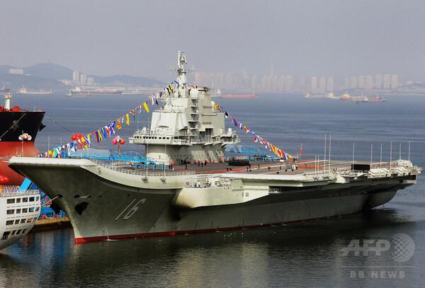 2隻目の空母建造、中国国防省発表