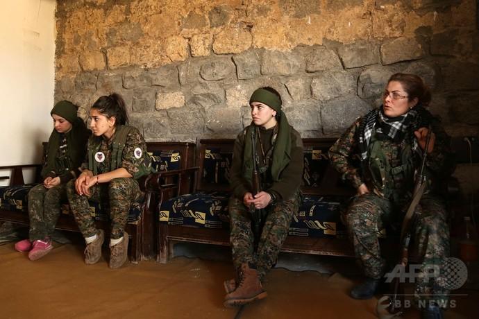 ISと戦う女性キリスト教徒部隊、シリア