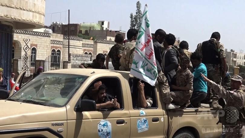 イエメン前大統領、サウジ連合と和平協議の「用意ある」 フーシ派と同盟崩壊か