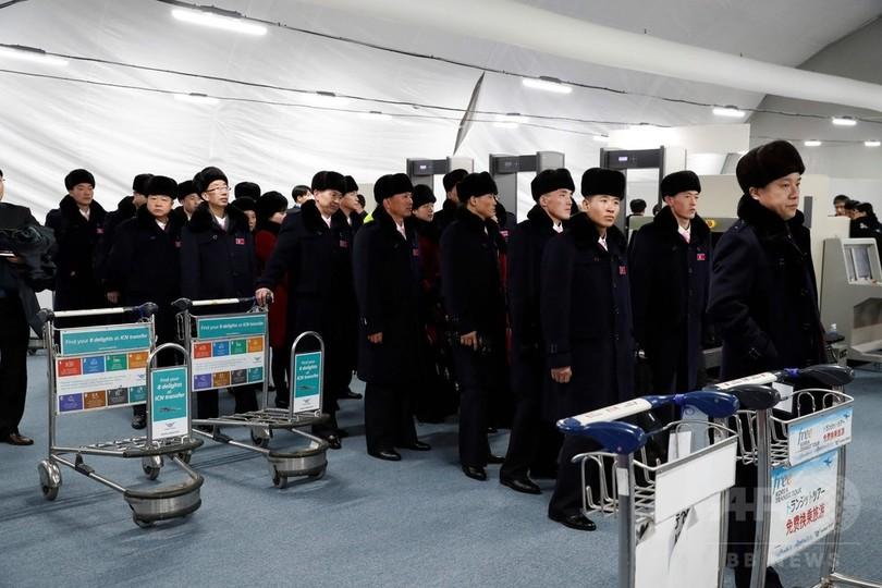 北朝鮮選手団長、「正恩」という名の韓国人女性を前に沈黙