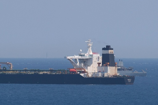 英ジブラルタルで石油タンカー拿捕 イランは「違法」と非難