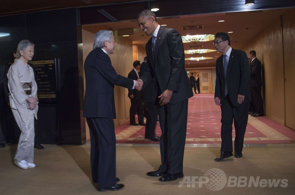 オバマ大統領、3日間の訪日を終了 次の訪問国 韓国へ