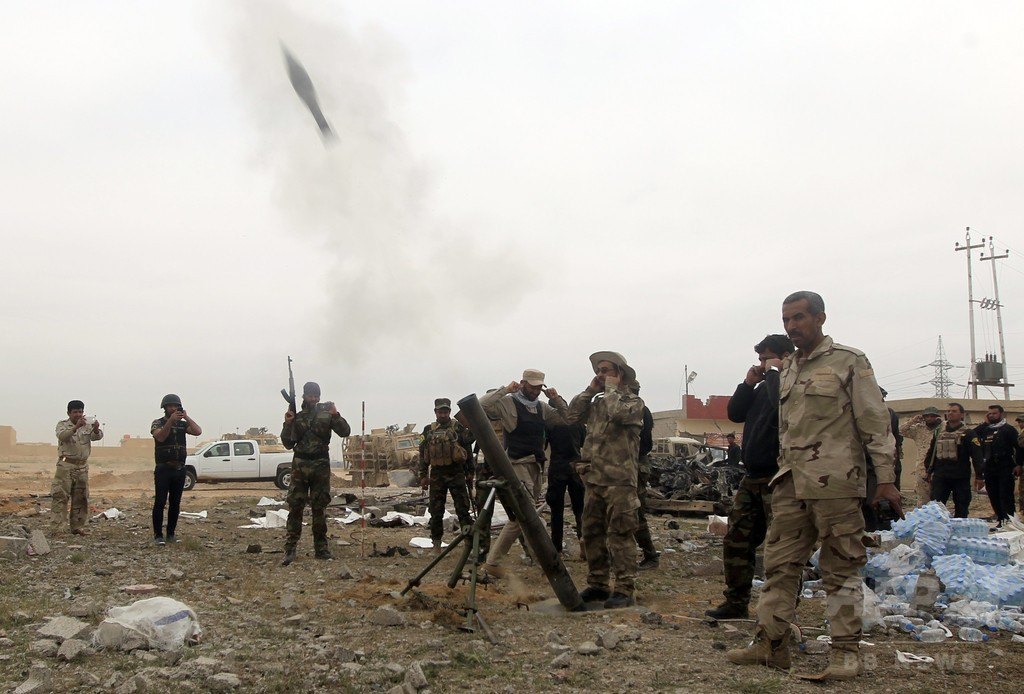 ティクリートで戦闘続く、政府側「市の5割を奪回」 イラク