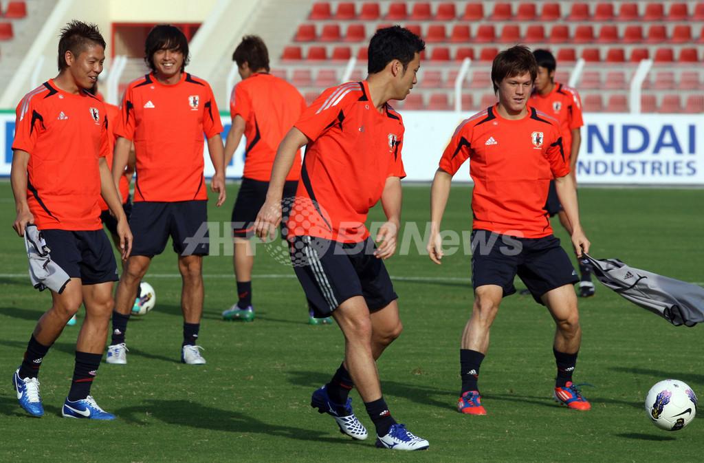 日本代表、オマーン戦に向けて最終調整 W杯アジア最終予選