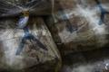タイの麻薬取締局、密売人から押収した大量の麻薬を公開