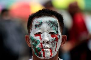 【特集】AFPのベストショット:10月10日~10月16日