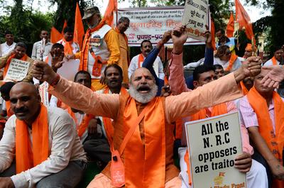 インド、ロヒンギャ7人をミャンマーに強制送還 国連の警告無視