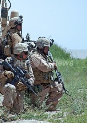 米海兵隊2200人のアフガニスタン駐留期限を延期、11月まで