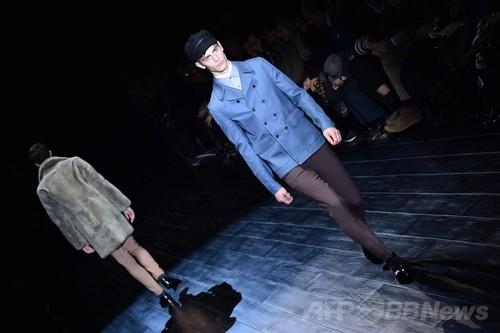 <14/15年秋冬ミラノ・メンズコレクション>グッチ