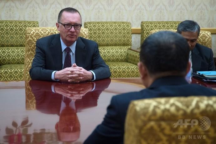 北朝鮮「戦争回避の必要に同意」 国連事務次長が明かす