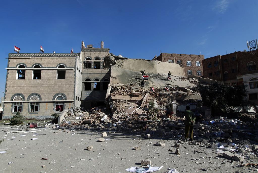 イエメン各地で戦闘激化、計80人死亡 和平協議に進展なし