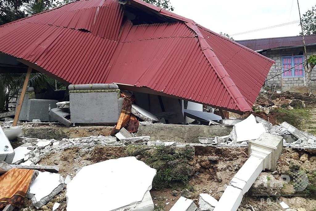 インドネシア東部地震、死者23人に 1万5000人以上が避難