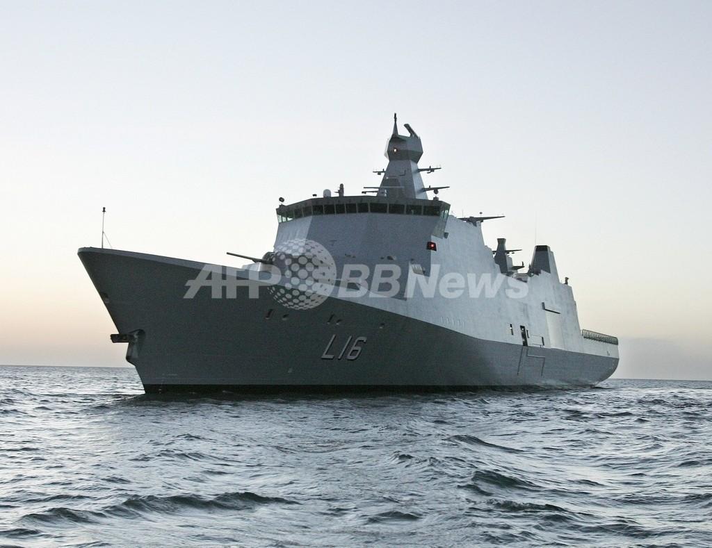 デンマーク海軍が不審船を発見、正体は泥酔船長の貨物船