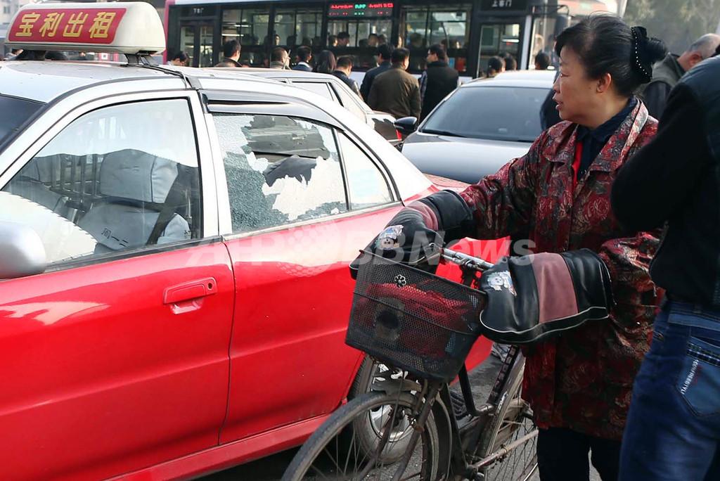 山西省共産党委前爆発で1人死亡、8人負傷 中国