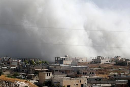 シリア政府、イドリブ県での停戦に条件付きで同意 国営メディア