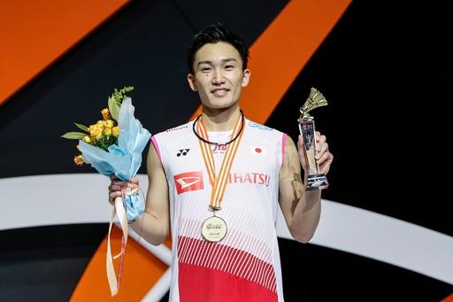 日本勢がアベック優勝、桃田は新世代の台頭喜ぶ アジア選手権