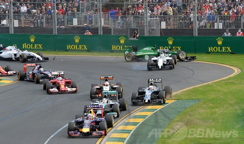 可夢偉がリタイア、ハミルトンとベッテルも オーストラリアGP