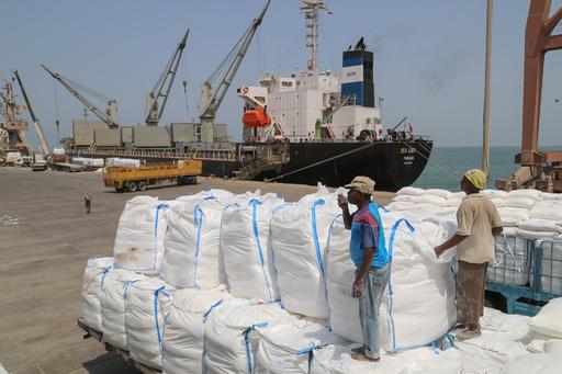 WFP、イエメン首都などへの食糧支援再開でフーシ派と大筋合意