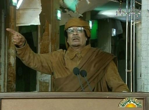 「最後の血の一滴まで戦う」、カダフィ大佐が徹底抗戦を宣言