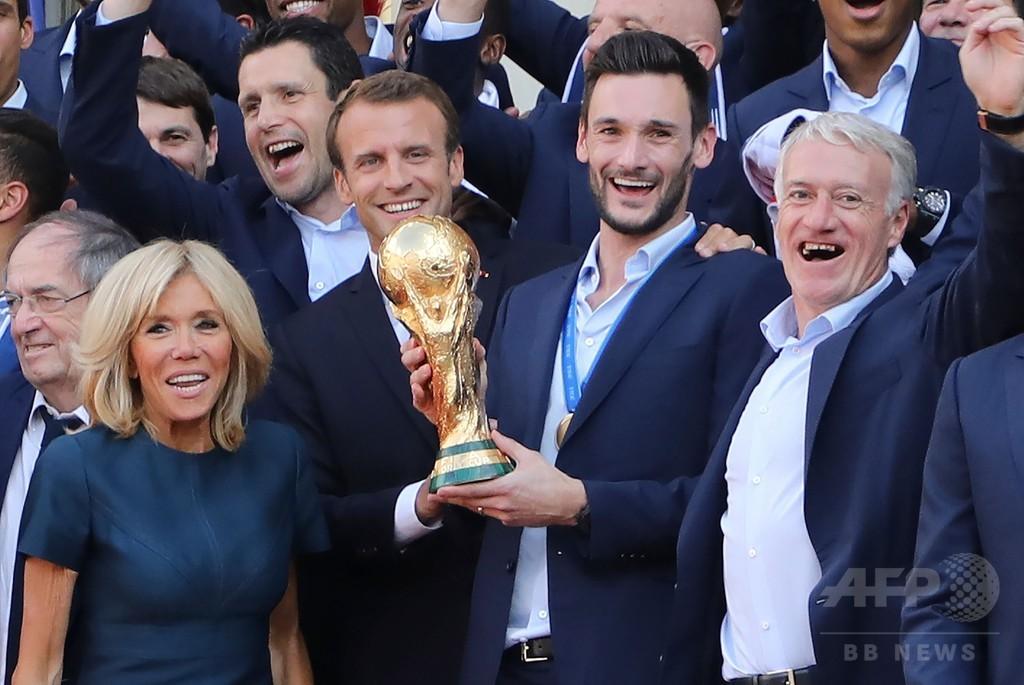 W杯制覇の仏代表、最高勲章のレジオン・ドヌール受勲決定
