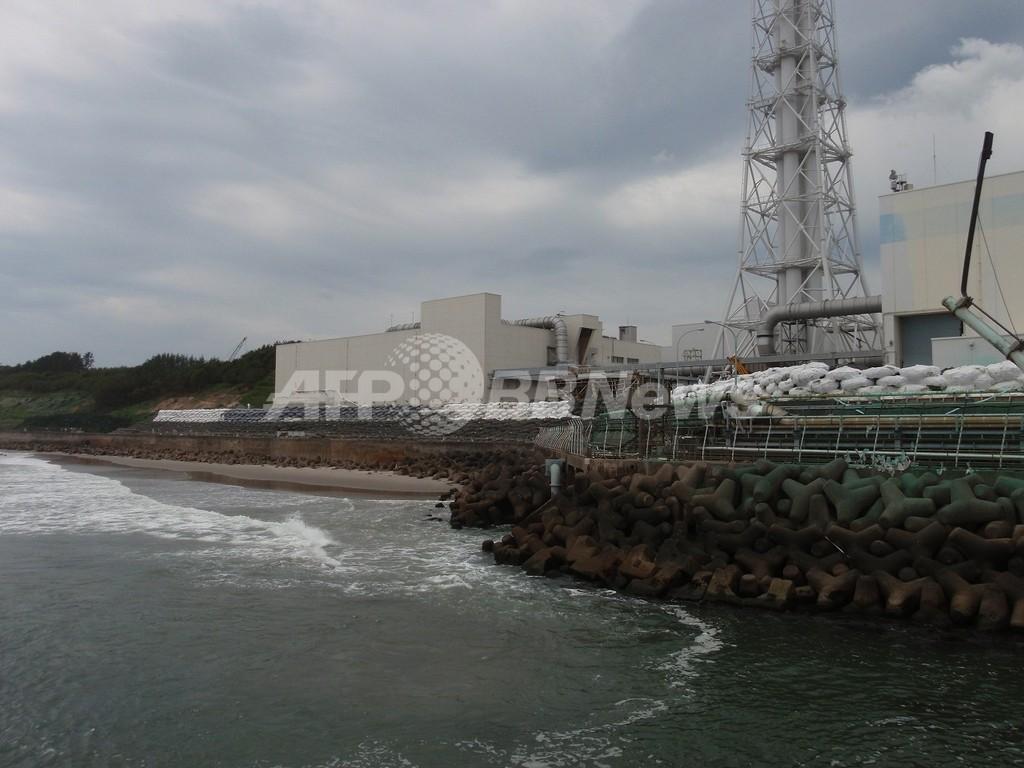 福島原発から海に流出したセシウム、2.71京ベクレル 仏調査