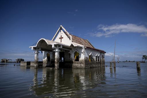 沈みゆくフィリピン諸島、地下水くみ上げの脅威 気候変動上回る