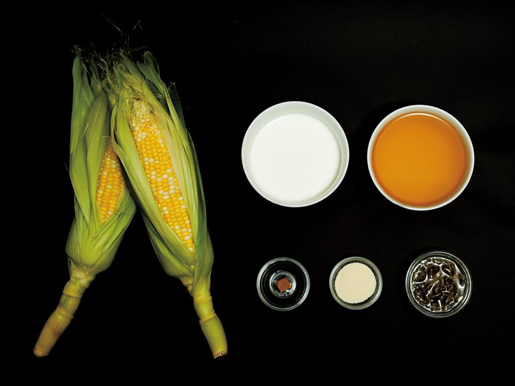 <La Cuillère de marie claire style>第82回 じゅん菜入りコールドコーンスープ