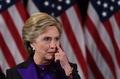 クリントン氏が敗北宣言 トランプ氏との協力表明