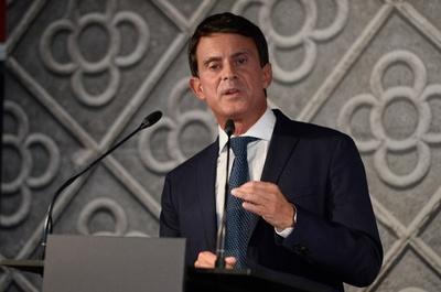 バルス元仏首相、バルセロナ市長選に出馬表明 異例の外国政界入り目指す