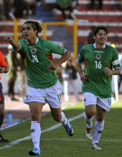 ボリビア ホームでブラジルに勝利、W杯予選