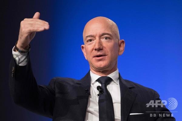 米長者番付、アマゾンのベゾス氏が首位 24年トップのゲイツ氏抜く