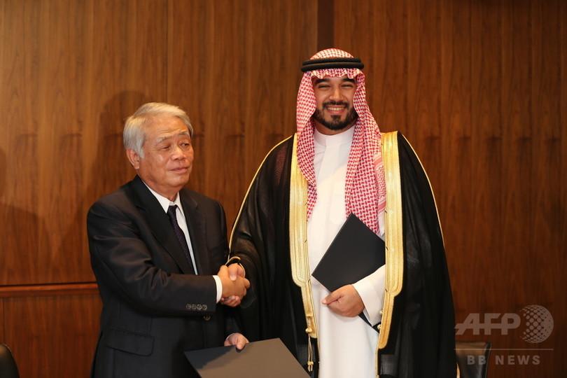 サウジ王子来日、『SASUKE』アラビア語圏版制作でTBSと契約