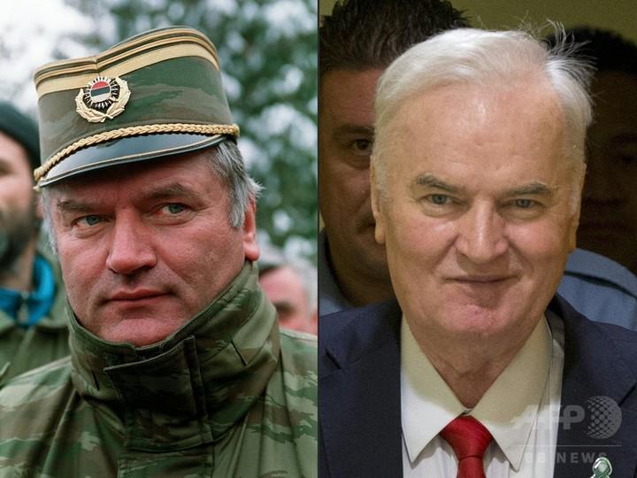 ムラディッチ被告終身刑、虐殺遺...
