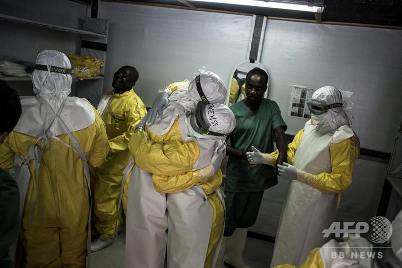 エボラ流行のコンゴ、5日間で19人死亡 死者総数は241人に