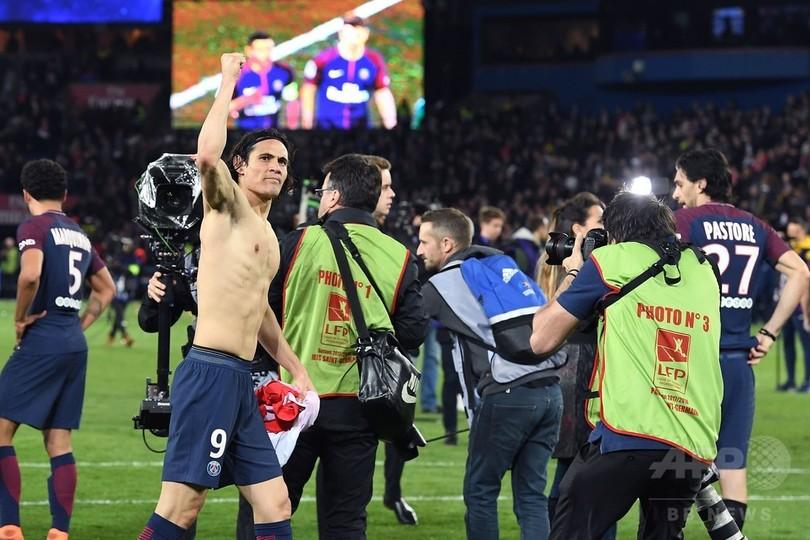 PSGが2季ぶりのリーグ優勝、昨季王者モナコに7発でタイトル奪還